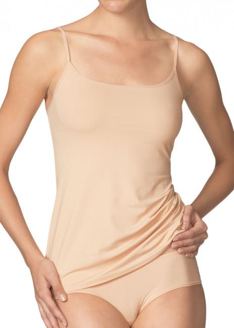 Calida Sensitive spaghetti-top linne XS-L beige