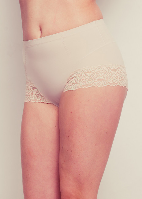 Magic Tummy Squeezer with Lace S-XXL Beige