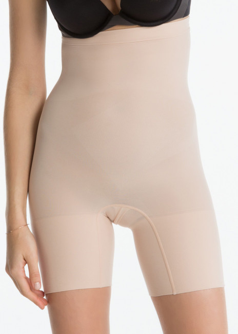Spanx Power höga shapingshorts S-XL beige