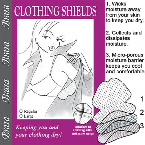 Braza Clothing Shields Vit - One Size