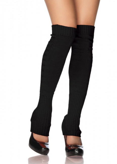 Leg Avenue Ribbed Knit Leg Warmers One Size