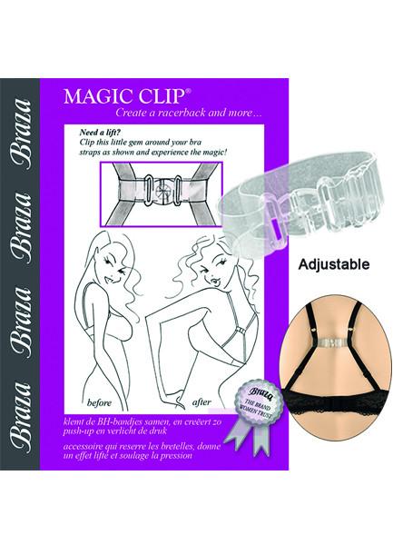 Braza Magic clip för brottarrygg