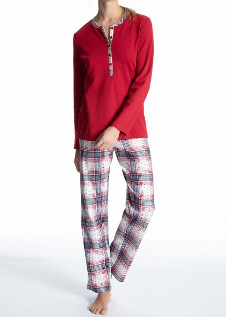 Calida Family & Friends pyjamas XS-L röd