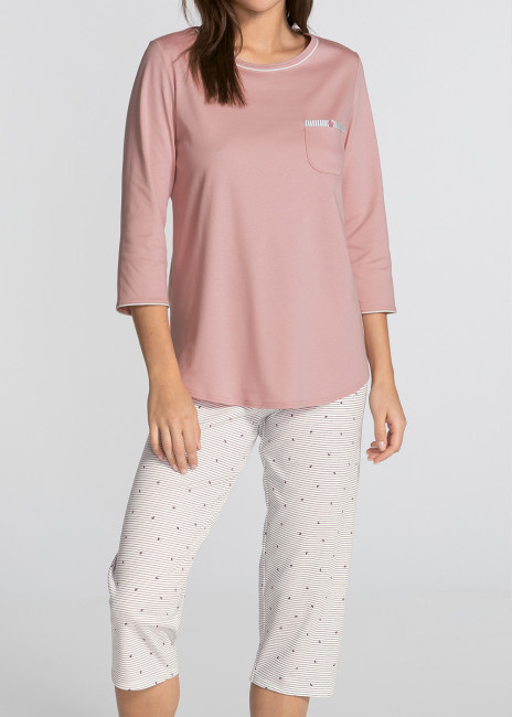 Calida Sweet Dreams 3/4 pyjamas XXS - L rosa
