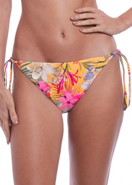 Fantasie Swim Anguilla bikiniunderdel med sidknytning XS-XL mönstrad gul