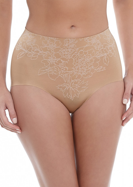 Wacoal Flower Power slimmande briefs S-XL beige