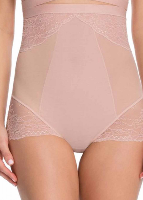 Spanx Spotlight on Lace brieftrosa hög midja XS-XL rosa