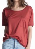 Calida 100% Nature T-shirt XS-M röd