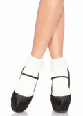 Leg Avenue Venice Lace Top Socks One Size