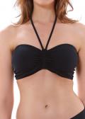 Freya Swim Remix bandeau bikini B-I kupa svart