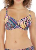 Freya Swim Cala Fiesta bikiniöverdel D-L kupa mönstrad