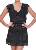 Freya Swim Sundance Cross Over Dress S-L svart