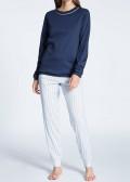 Calida Sweet Dreams pyjamas XXS-L blå