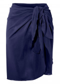 Damella sarong one size marinblå