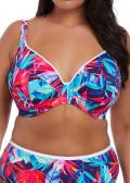 Elomi Swim Paradise Palm bikiniöverdel plunge F-K kupa multi
