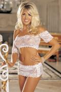 Shirley of Hollywood 2-delat Underklädes-set One Size