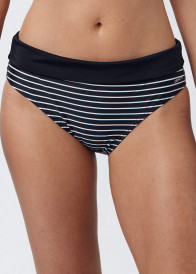 Abecita Wild in Stripe bikiniunderdel med vikbar kant 38-48 mönstrad