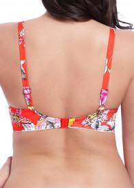 Freya Swim Wild Flower bikiniöverdel plunge D-L kupa mönstrad
