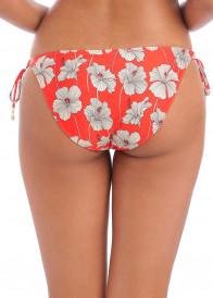Freya Swim Hibiscus Beach bikiniunderdel med sidknytning XS-XL mönstrad