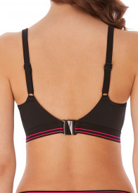 Freya Swim Club Envy vadderad bikiniöverdel D-L kupa mönstrad