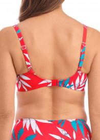 Fantasie Swim Santos Beach bikiniöverdel fullkupa D-K kupa mönstrad