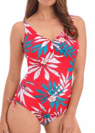 Fantasie Swim Santos Beach justerbar baddräkt D-M kupa mönstrad