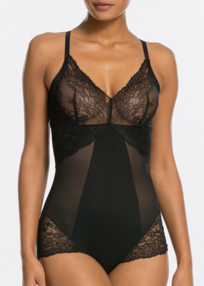 Spanx Spotlight on Lace body S-L svart