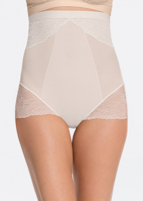 Spanx Spotlight on Lace brieftrosa hög midja S-L vit