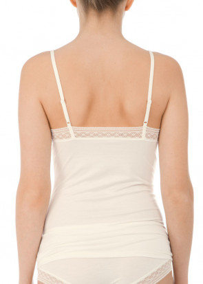 Calida Louise spaghetti top XS-L off-white
