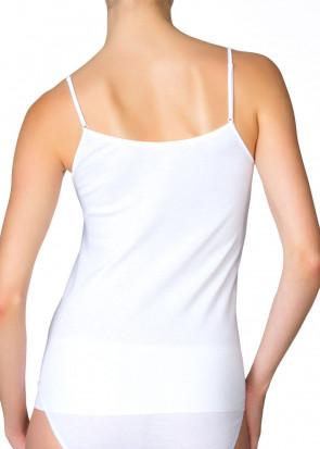Calida Feminin Sense spaghetti top XS-XL vit