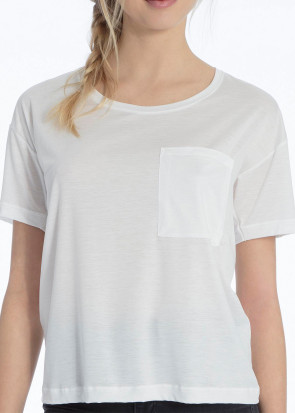 Calida 100% Nature T-shirt XS-M vit