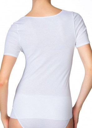 Calida Feminin Sense short-sleeve top XS-XL vit