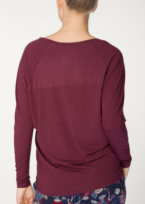 Calida Favourites Trend long-sleeve top XS-XL röd