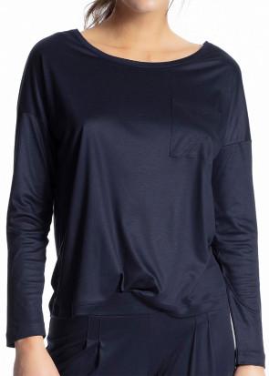 Calida 100% Nature långärmad tröja XXS-M blå