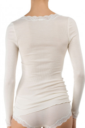 Calida Richesse long-sleeve top XS-L cream