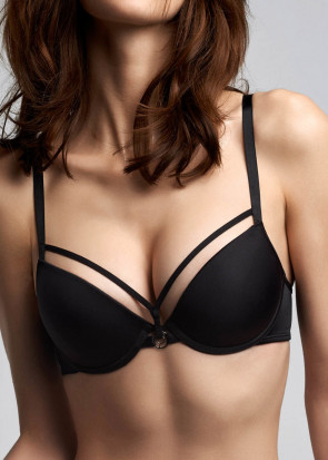 Marlies Dekkers Space Odyssey push-up bh A-E kupa svart
