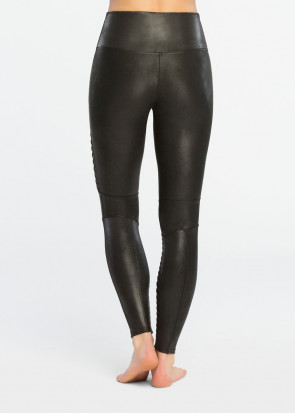 Spanx Moto Leggings XS-XL svart