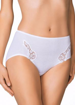 Calida Feminin Sense midi-brief trosa XS-XL vit ... b600c92f1fd1b