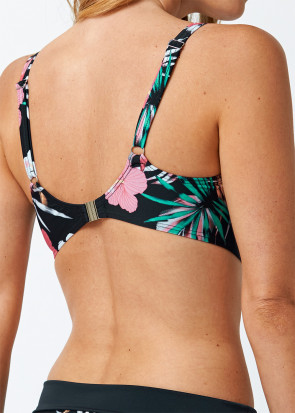 Abecita Palm Beach bikiniöverdel B-F kupa svart