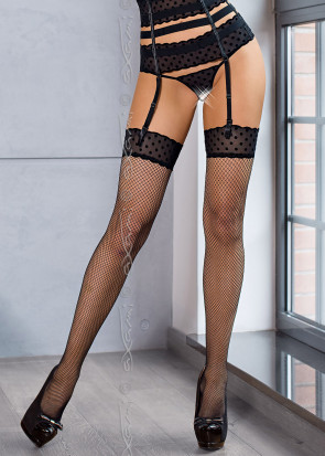Axami New York stockings S-XL svart
