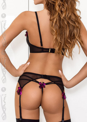 Axami Cassis stringtrosa S-XL svart