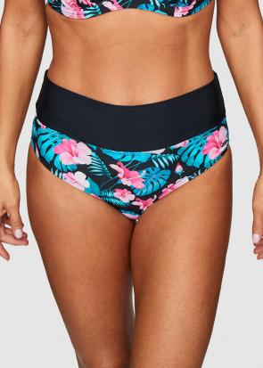 Abecita Aloha Tropica bikiniunderdel med vikbar kant 36-48 mönstrad