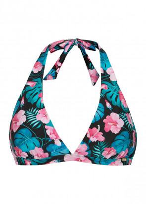 Abecita Aloha Tropica bygellös bikiniöverdel B-E kupa mönstrad