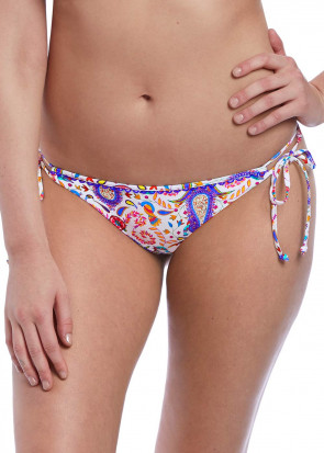 Freya Swim Indio bikiniunderdel med sidknytning M-XL mönstrad