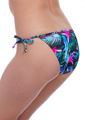 Freya Swim Jungle Flower bikiniunderdel knyt XS-XL mönstrad