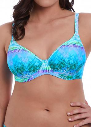Freya Swim Seascape bikiniöverdel D-L kupa mönstrad