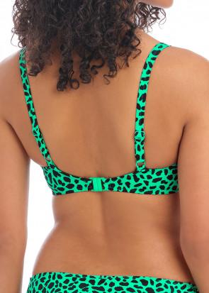 Freya Swim Zanzibar bikiniöverdel plunge D-L kupa grön