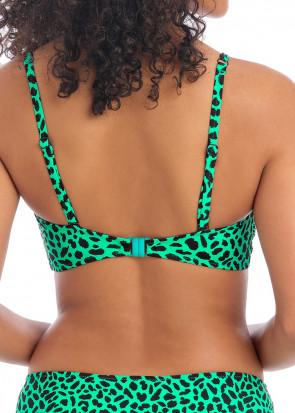 Freya Swim Zanzibar bikiniöverdel D-I kupa grön