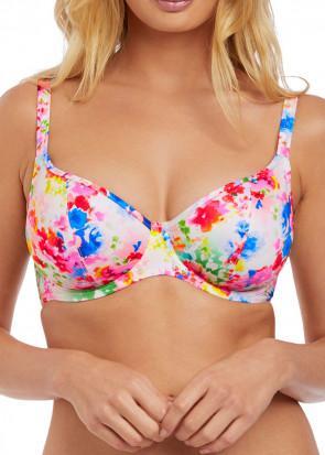 Freya Swim Endless Summer bikiniöverdel plunge Top D-L kupa mönstrad