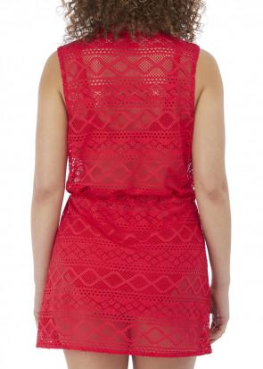 Freya Swim Sundance strandklänning S-L röd